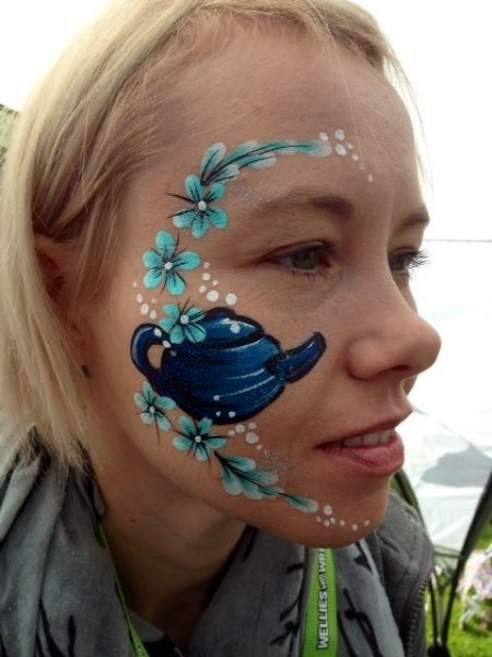 teapot face painting