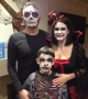 Halloween scary family