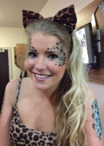 hen party face painting