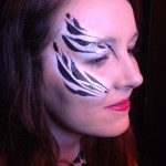 zoo project face painting, night club face painting, student face and body art