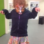 tigertiger face painting, elsecar visitor centre