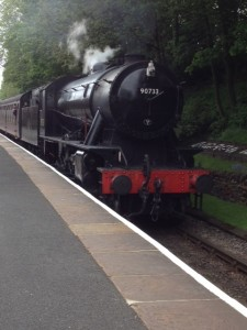 steam train, keighley and worth valley railway