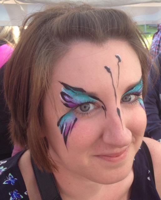 Face Painting Body Art Skipton Fake Festival Tigertiger Face Painting Body Art