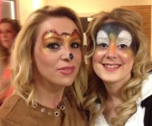 hen party face paint